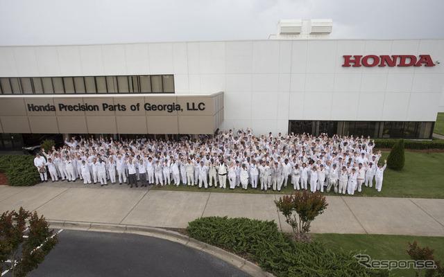 Honda us Georgia tarapore the transmission plant