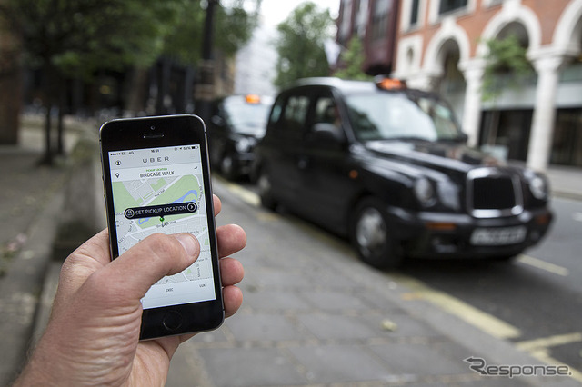 The announced tie-up with Toyota's (Uber)