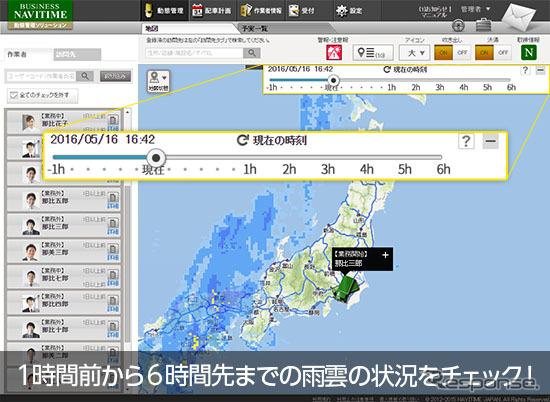 Business Navy time dynamic management solutions rainfall radar capabilities
