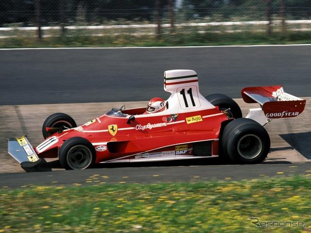 Ferrari 312t (car clay Regazzoni, 1975)