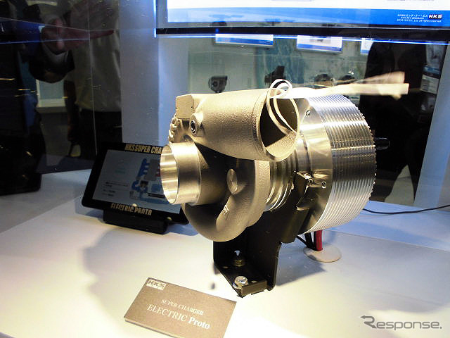H HSK, is adopting electric motor driven supercharger debuted (exposition of technology exhibition next to 2016 Beach)
