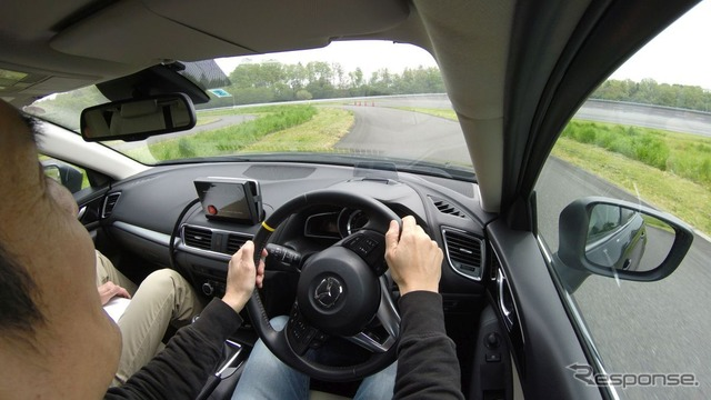 Mazda G-VECTORING CONTROL (image)