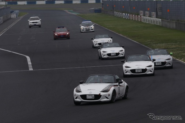 Roadster-party race III West Japan series round 1