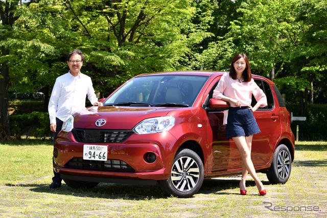 """Carlife essayist Mr. Yumi Yoshida talks about Toyota Passo """"kaiteki"""" said journalist Kataoka, Hideaki"""