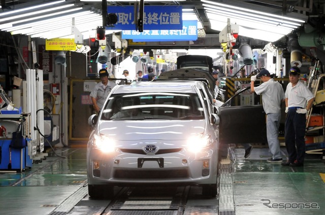 Toyota's Tsutsumi plant (images)