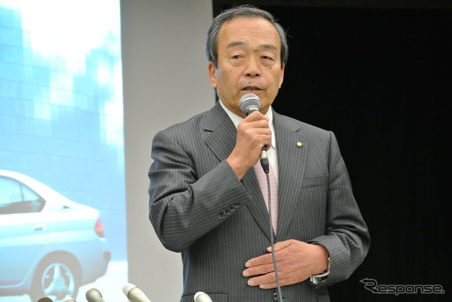 Chairman of Toyota Motor Corp. uchiyamada Takeshi (images)