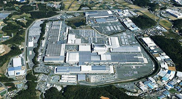 Suzuki's Kosei plant (Kosei City, Shizuoka Prefecture)