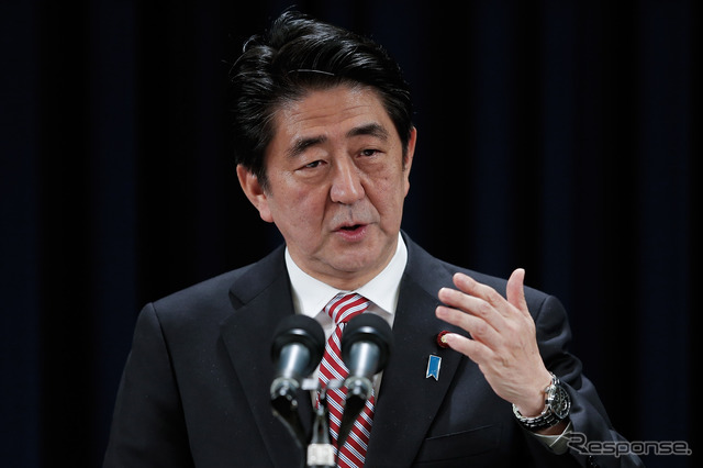 Prime Minister Shinzo Abe (images)