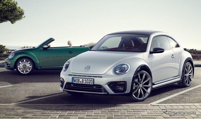 2017 del tipo escarabajo de Volkswagen.