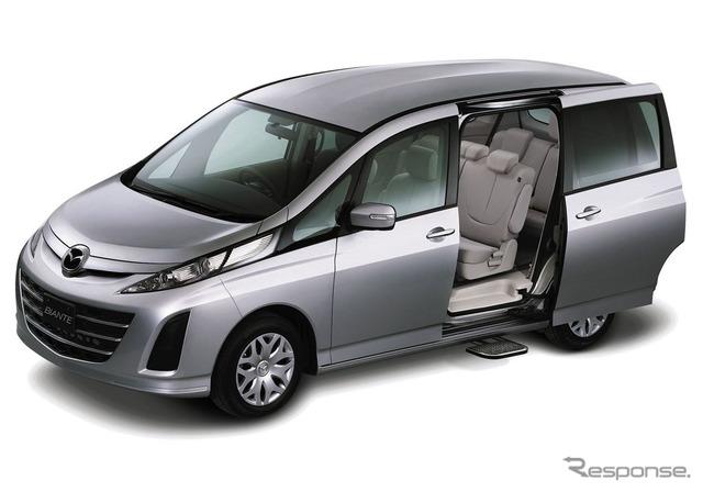 Mazda biante 20 S-SKYACTIV auto langkah berkendara