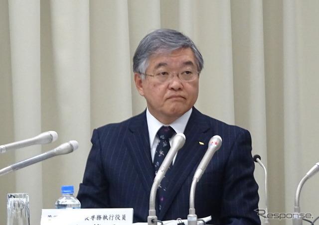 Daihatsu senior managing officer Noriyoshi Matsushita