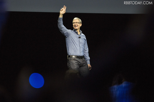 Tim Cook CEO (c) Getty Images