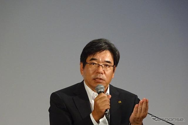 Nissan vice president Hideyuki Sakamoto