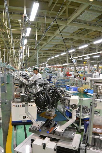 Honda Kumamoto factory (the reference image)