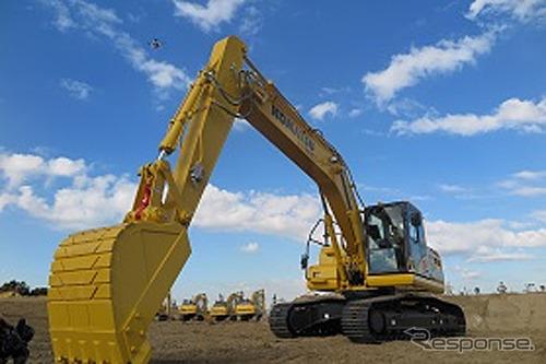 ICT construction machine test