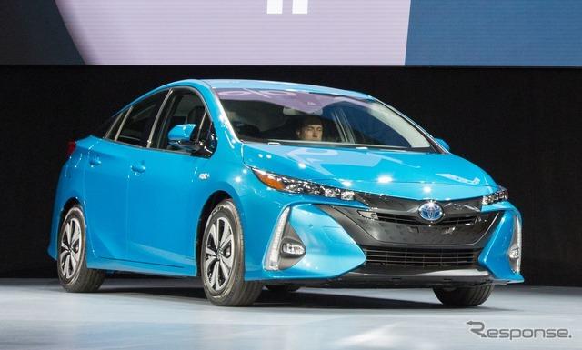 New Toyota Prius PHV Prius Prime (United States names)