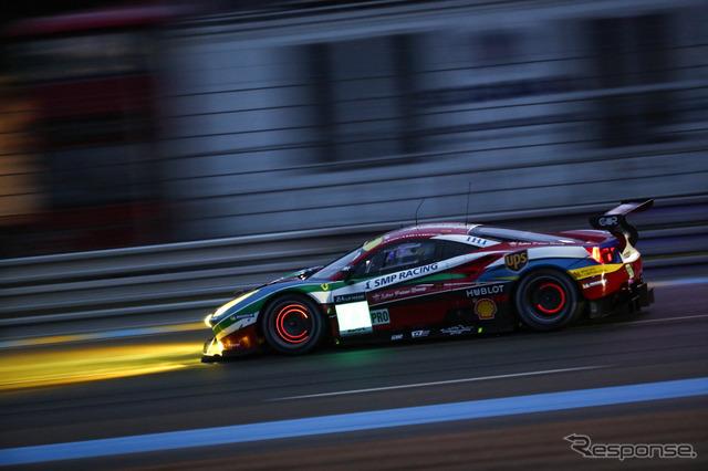 "LM GTE-Pro class Ferrari ""GTE 488]"