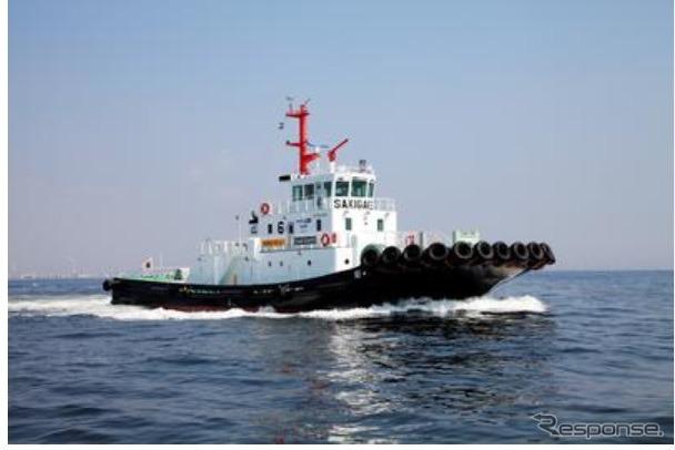 """LNG fuel tug """"sakigake"""""""