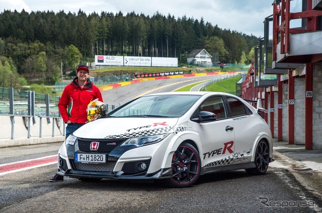 New Honda Civic type R (Belgium Spa-Francorchamps)