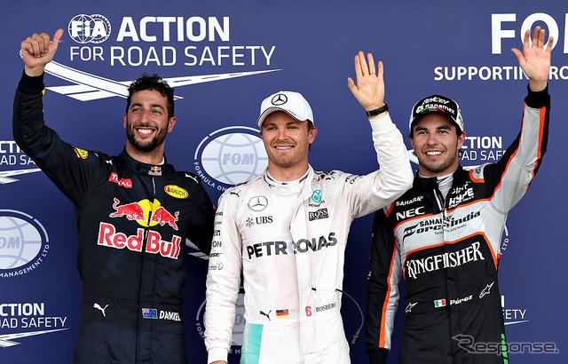 2016F1 European Grand Prix-qualifying