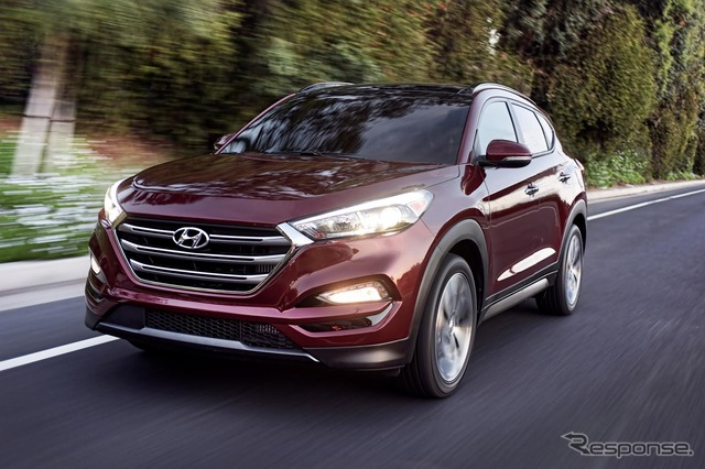 New Hyundai Tucson (United States model)