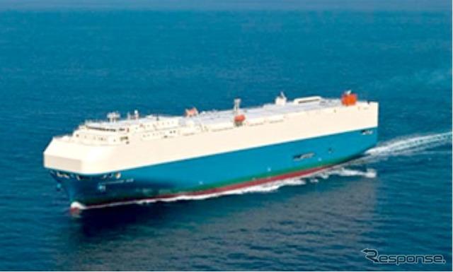 Aquamarine ACE car carriers
