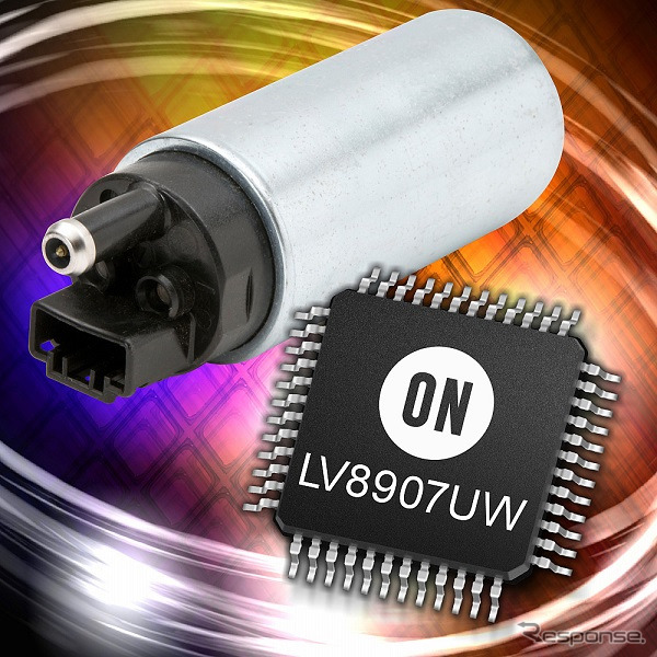 On semiconductor LV8907UW