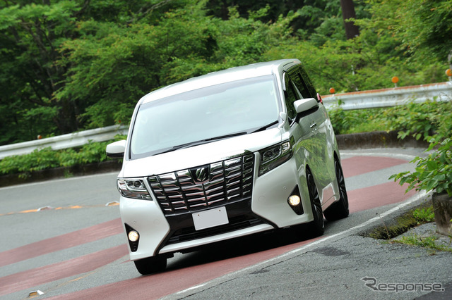 Test the new suspension kit HKS hyper Max G to the Toyota alphard