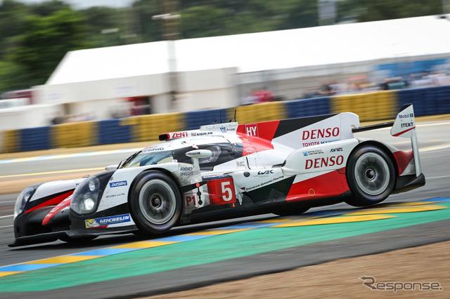 No. 5 Toyota (Le Mans 24-hour endurance race 2016)