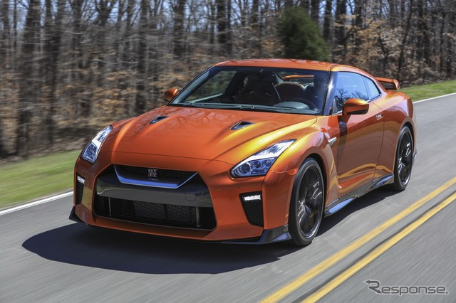 2017 of the Nissan GT-r type.