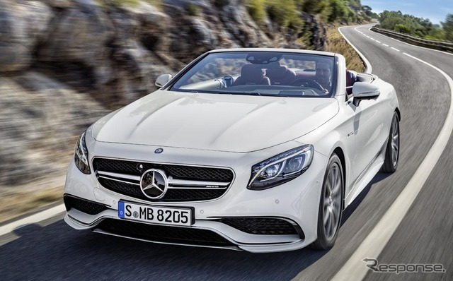 Mercedes S63 AMG 4MATIC cabriolet