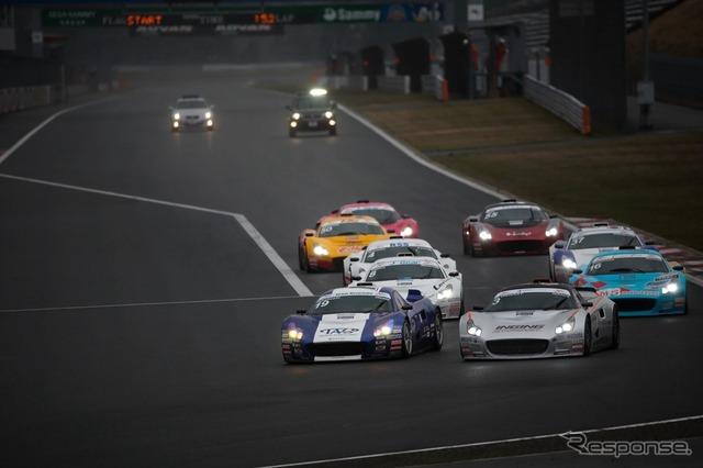 Round 1 final race
