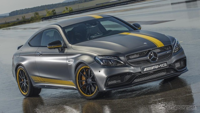 Mercedes C63 AMG Coupe Edition 1