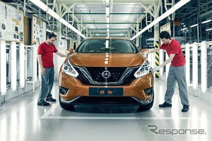 Nissan starts production of new Murano in Russia