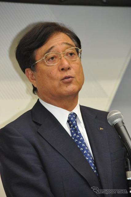 Mashiko, Chairman of Mitsubishi Motors shareholders ' meeting (24 and Chiba prefectural Makuhari City)
