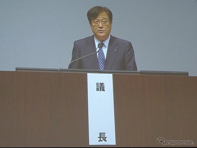 President of Mitsubishi Motors Mashiko