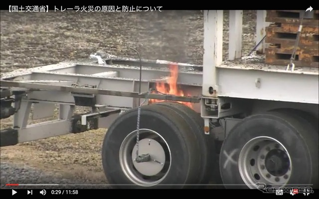 Fire accidents caused by brake caliper experiment more (normalization of Youtube videos)