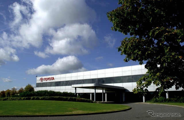 Toyota United Kingdom factory (the reference image)