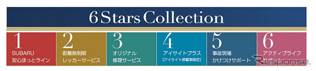 Subaru Automobile Plan 6 Stars Collection