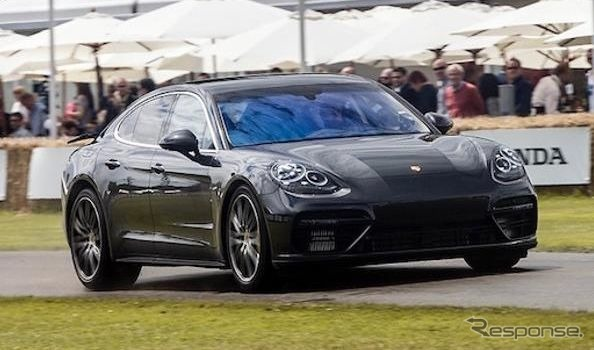 Development of next-generation Porsche Panamera cars