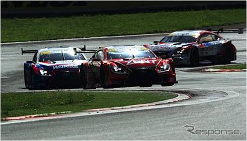 Lexus Suzuka circuit SUPER GT Watch program (the reference image)