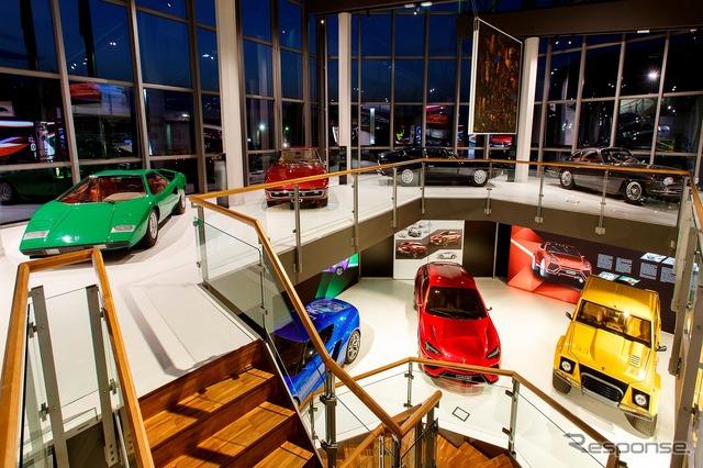 Lamborghini Museum renewed