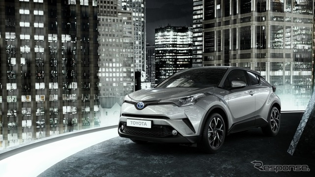 Toyota C-HR for Europe