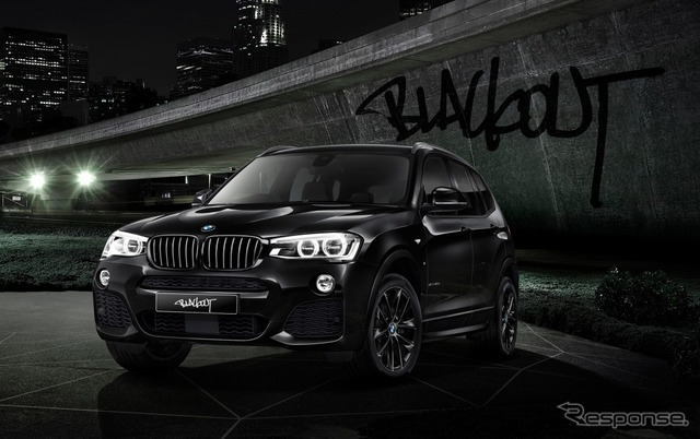 BMW X3 celebration Edition black out