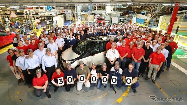 Toyota Yaris production hits 3M
