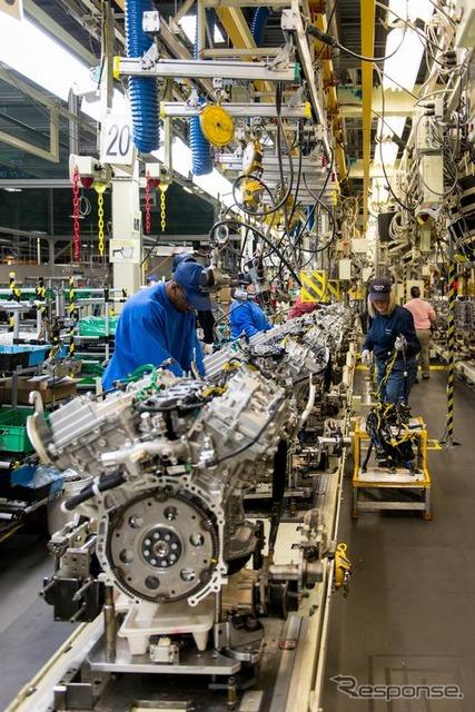 United States Alabama engine plant of Toyota