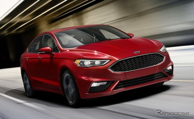 Ford Fusion in 2017-type V6 sport