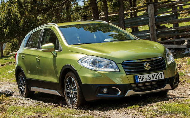 Current Suzuki SX4 S cross