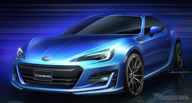 Subaru BRZ final sketch