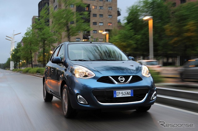Current Nissan Micra (March in Japan)